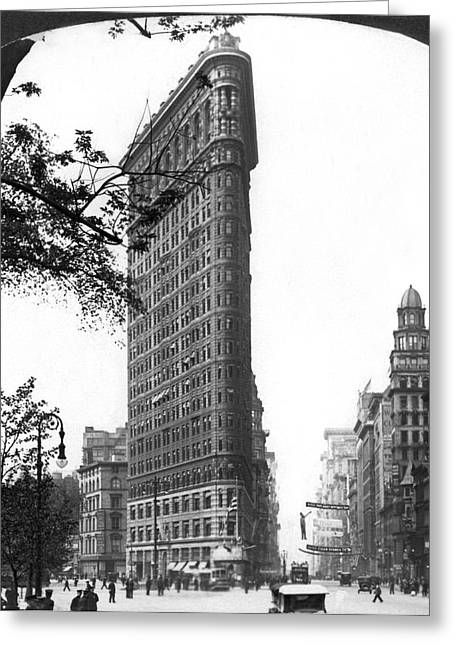 The Flatiron Building In Nyc Greeting Card