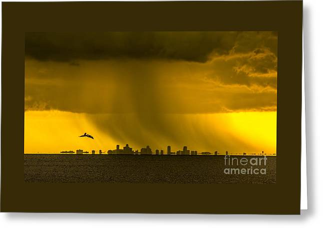 The Floating City  Greeting Card by Marvin Spates
