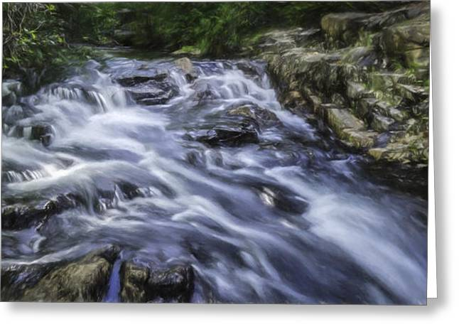 The Flow Greeting Card by Barb Hauxwell
