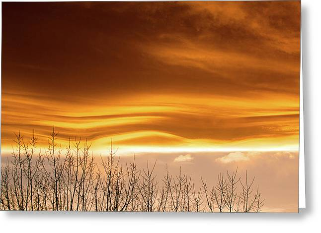 The Flow Greeting Card by Jim Garrison