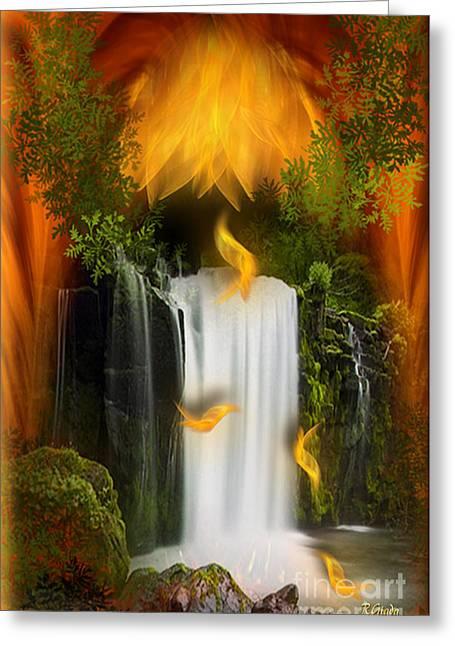 The Flower Of Joy - Fantasy Art By Giada Rossi Greeting Card