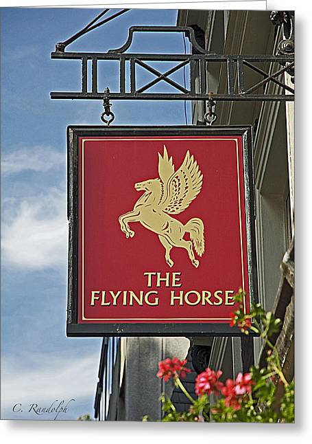 The Flying Horse Greeting Card
