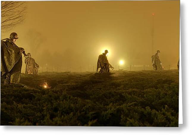 The Fog Of War #1 Greeting Card by Metro DC Photography