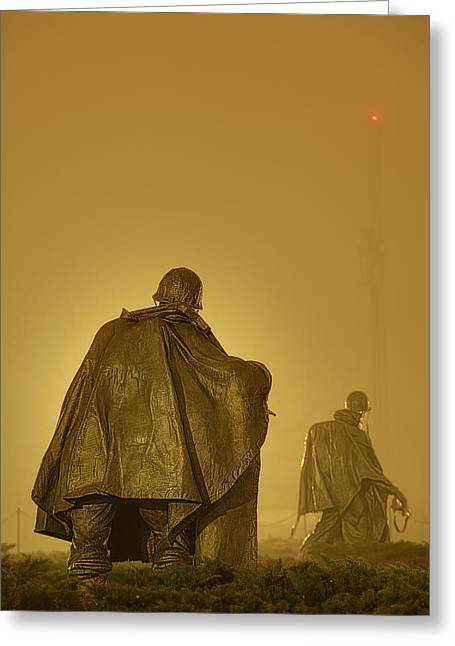 The Fog Of War #2 Greeting Card by Metro DC Photography