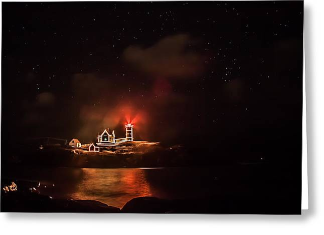 Greeting Card featuring the photograph The Fog Rolls In by Jeff Folger
