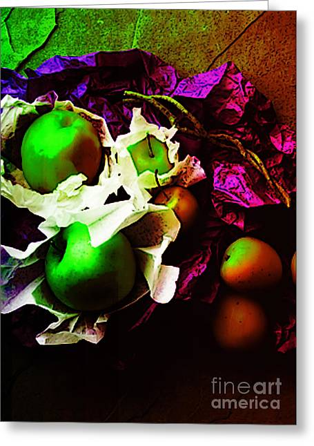 The Forbidden Fruit II Greeting Card