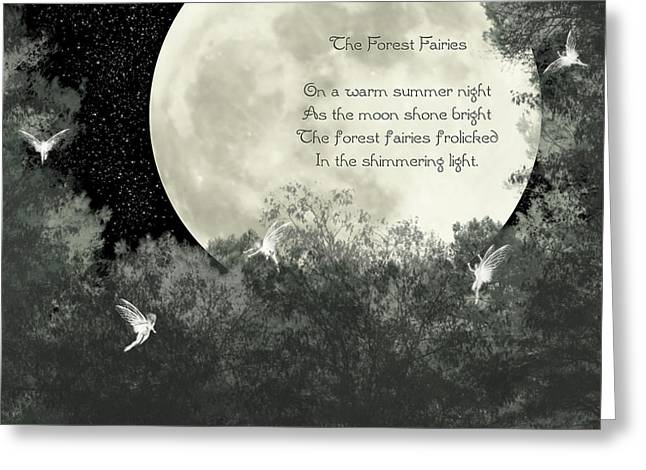 The Forest Fairies Greeting Card