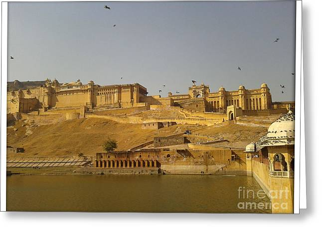 The Fort  Greeting Card by Ankit Garg