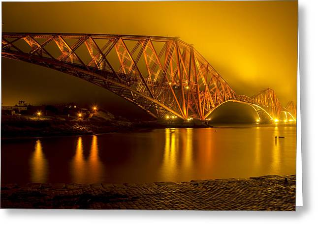 The Forth Bridge From North Queensferry Greeting Card