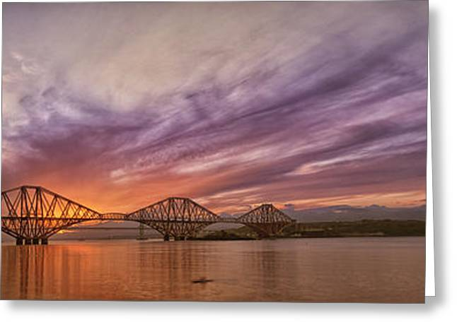 The Forth Rail Bridge Greeting Card
