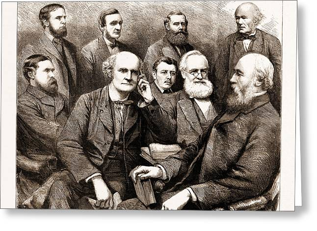 The Forthcoming Meeting Of The British Association, 1883 Greeting Card