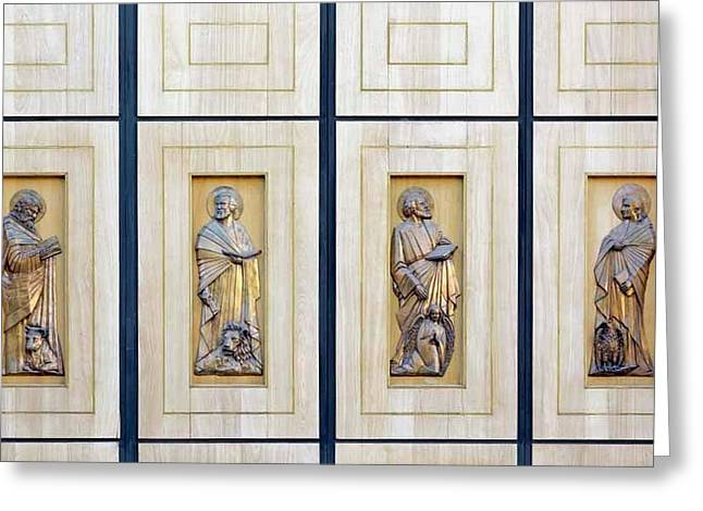 The Four Evangelists Greeting Card by Ken Welsh