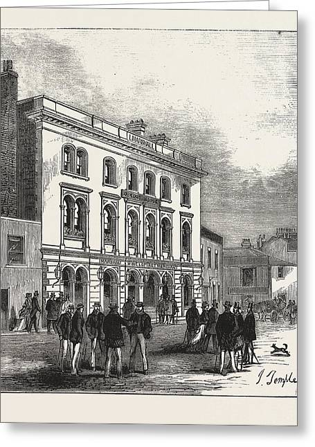 The Fox And Hounds, Putney, Oxford Head-quarters Greeting Card