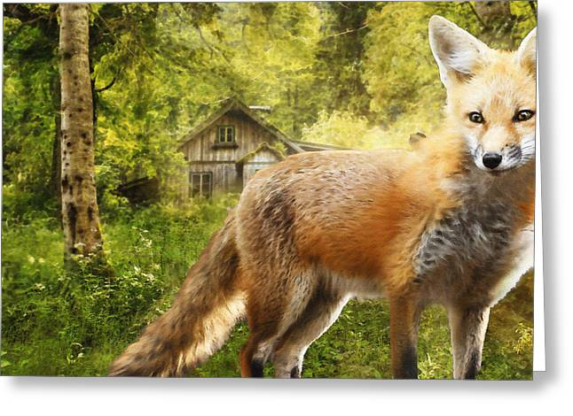 The Fox Greeting Card