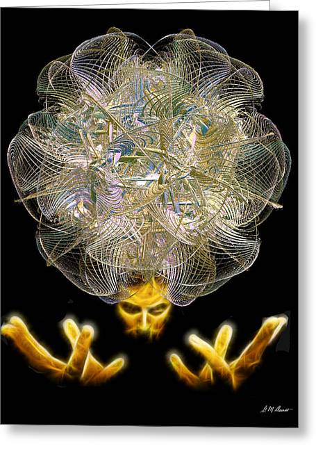 The Fractal Artist Greeting Card by Michael Durst