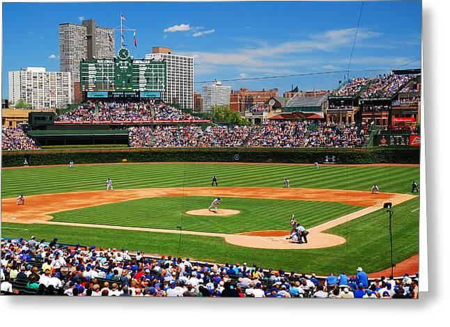 The Friendly Confines Greeting Card