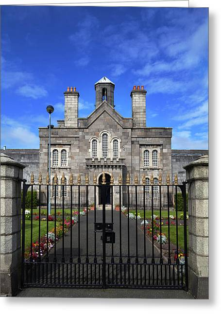 The Front Facade Of Arbour Hill Greeting Card