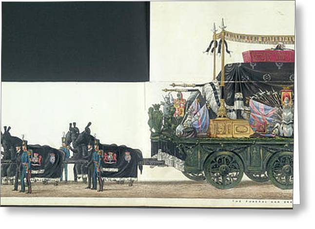 The Funeral Procession Greeting Card
