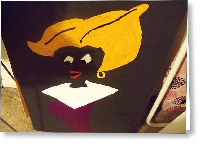 The Future Greeting Card by Rhonda Jackson