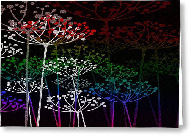 The Garden Of Your Mind Rainbow 3 Greeting Card