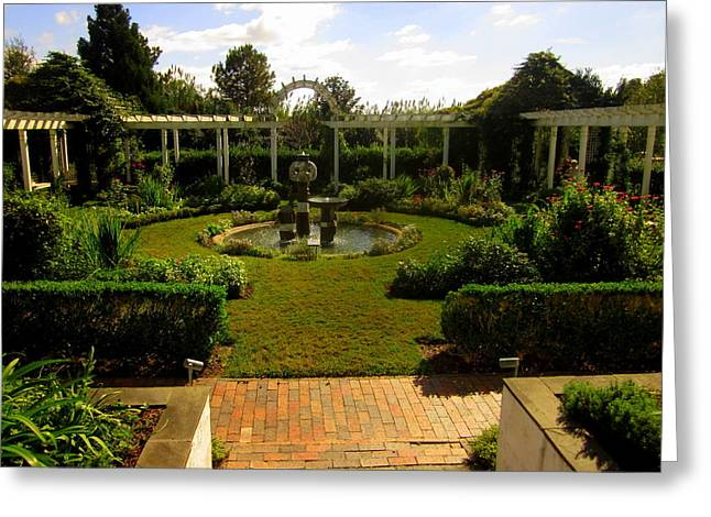 The Garden Greeting Card by Peter LaPlaca