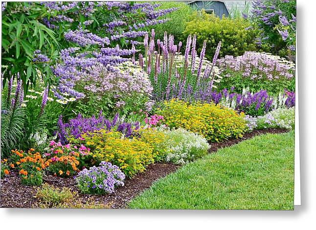 The Gardens Of Bethany Beach Greeting Card