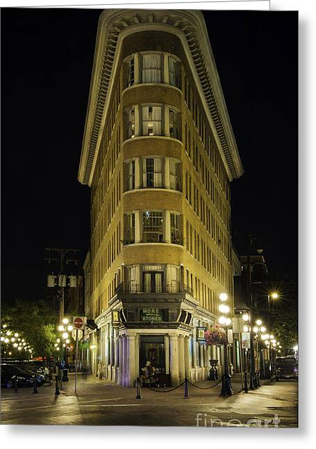 The Gastown Hotel Greeting Card