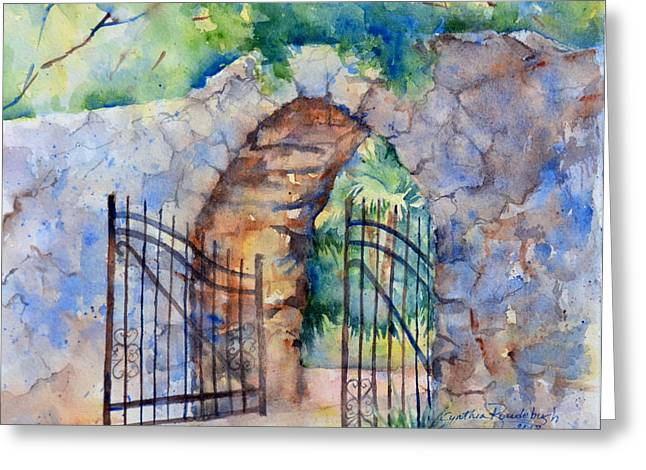 The Gate Greeting Card