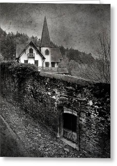 Greeting Card featuring the photograph The Gate by Laura Melis
