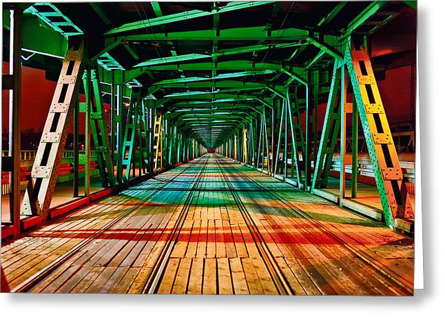The Gdanski Bridge Greeting Card