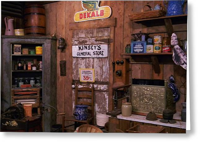 The General Store Greeting Card by Warren Thompson