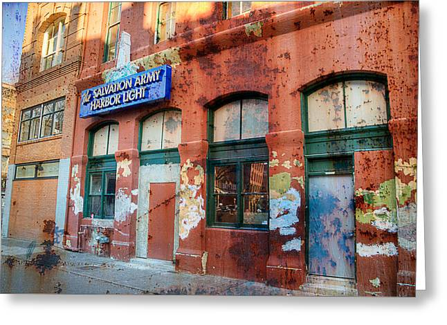 The Gift - Portland Oregon Greeting Card by Spencer McDonald