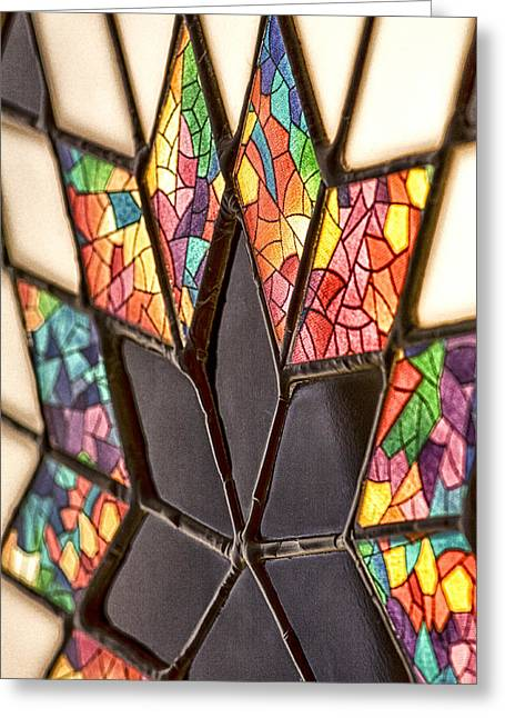 The Glass Star Greeting Card by Gregory Gill