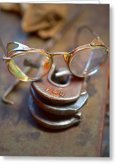 The Glasses 1 Greeting Card