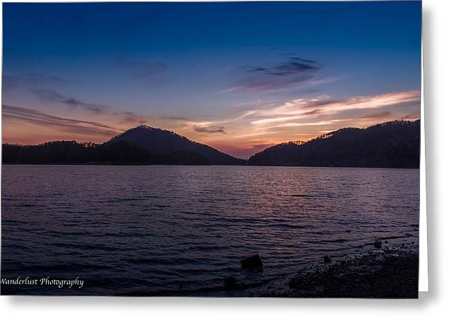 The Gloaming Greeting Card by Paul Herrmann