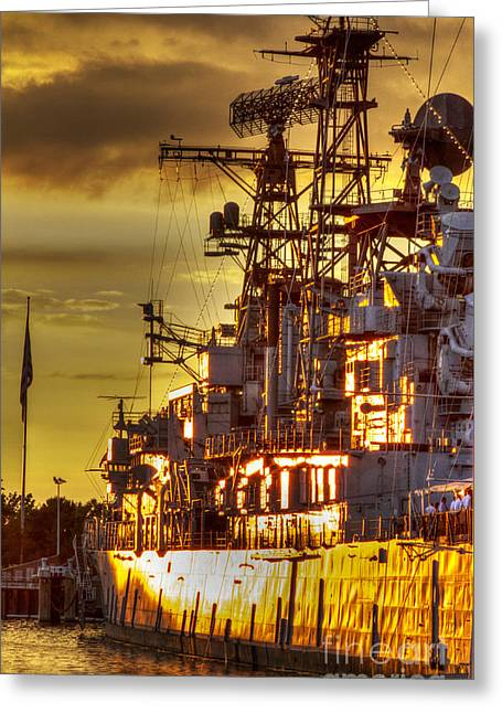 The Glory Days -  Uss Sullivans Greeting Card