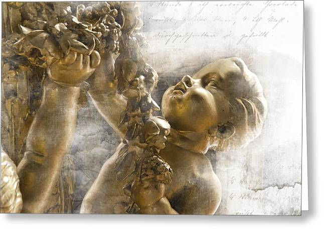 The Glory Of France Greeting Card by Evie Carrier