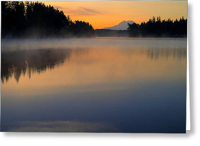 The Glow At Dawn Greeting Card