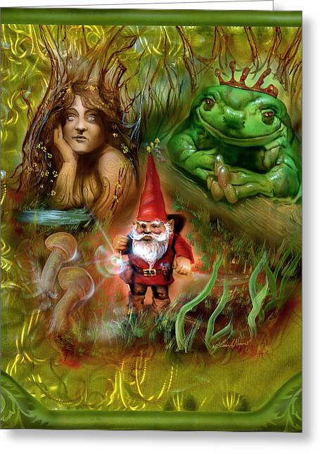 The Gnomes Journey Greeting Card