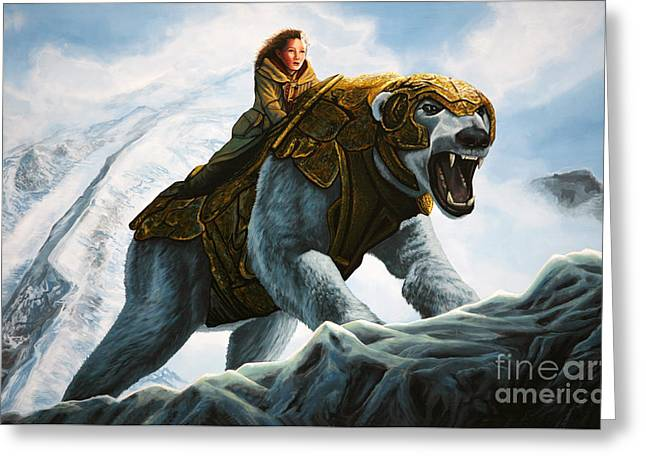 The Golden Compass  Greeting Card