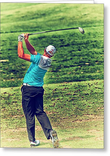 The Golf Swing Greeting Card