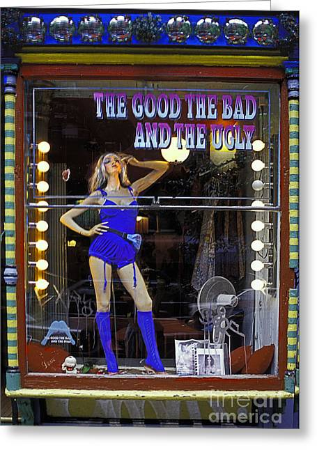 The Good Bad And Ugly Greeting Card by Bruce Bain