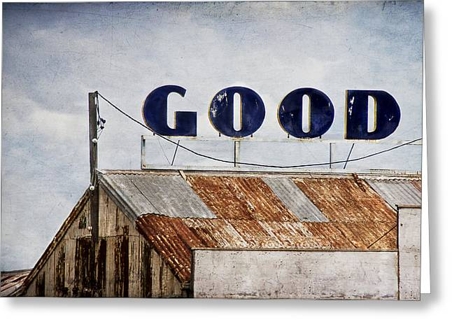 The Good Shed Greeting Card by Rosemary Scott