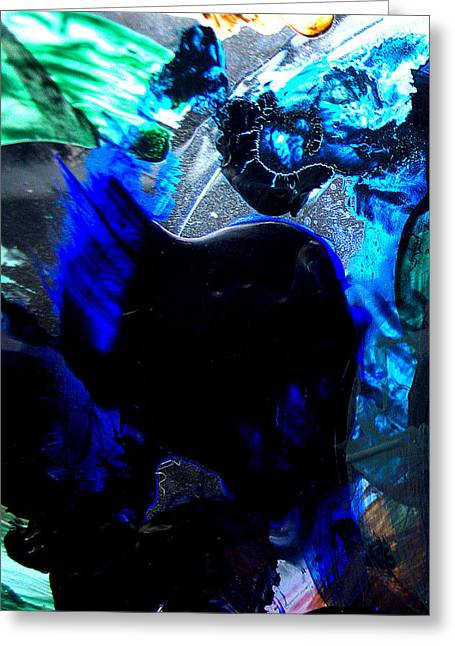 Greeting Card featuring the digital art The Good With The Bad by Christine Ricker Brandt