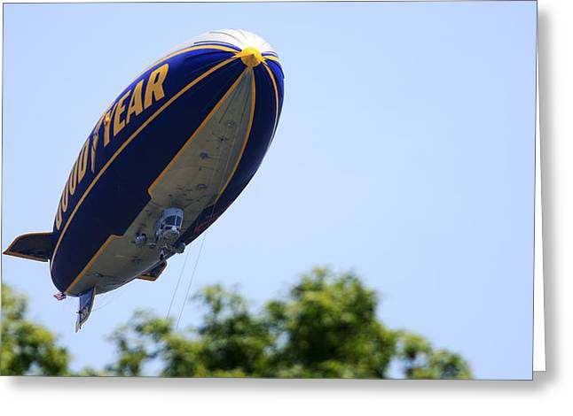 The Goodyear Blimp N3a Greeting Card