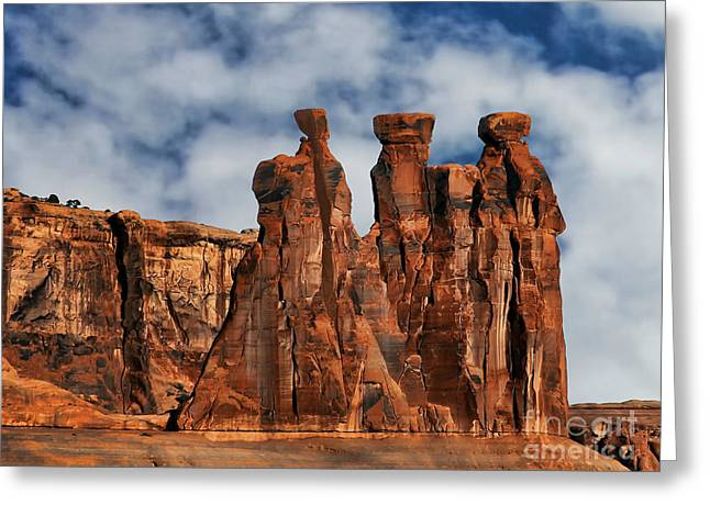 Greeting Card featuring the photograph The Gossips by Shirley Mangini