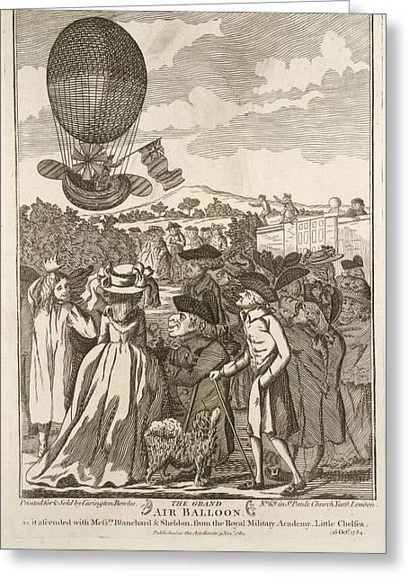 The Grand Air Balloon Greeting Card