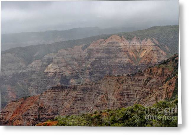 The Grand Canyon Of The Pacific Greeting Card by Butch Phillips