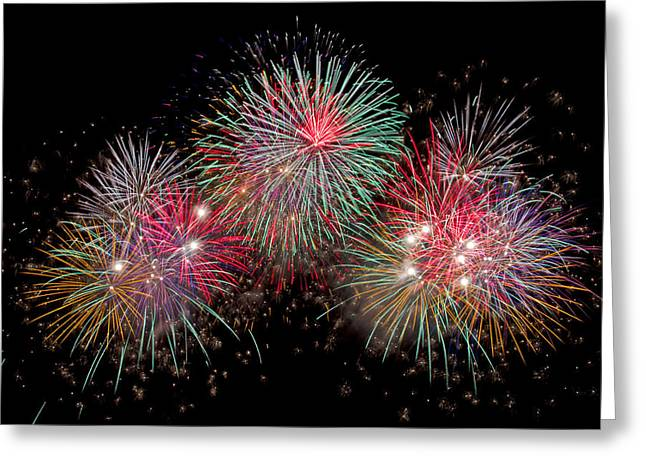 The Grand Finale Greeting Card by Dale Niesen