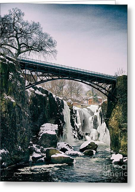 The Great Falls Of Paterson Greeting Card